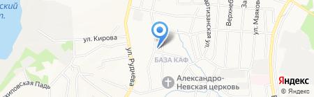 ТРИЭР-ДВ на карте Хабаровска
