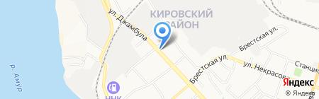 Провижн ДВ на карте Хабаровска