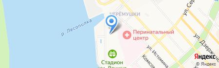 Skytec Sport на карте Хабаровска