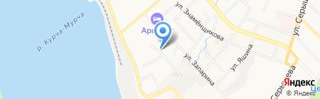 Продуктовый магазин в Зеленоборском переулке на карте Хабаровска