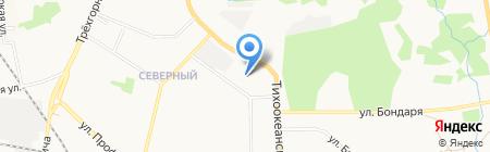Хабаровская банковская школа (колледж) Центрального банка РФ на карте Хабаровска