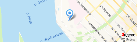 СКА-энергия на карте Хабаровска