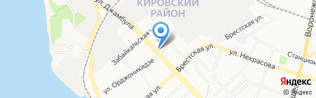 Дуэт на карте Хабаровска