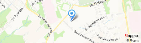 Грации на карте Хабаровска