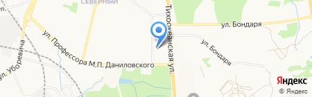Булочка на карте Хабаровска