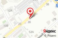 Схема проезда до компании Молодёжный в Астрахани