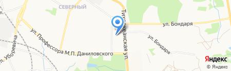 Водяной на карте Хабаровска