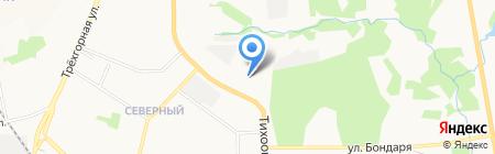 Тротуар-ДВ на карте Хабаровска