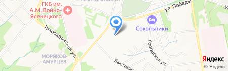 ЦЕННЕР-ВОДОПРИБОР ЛТД на карте Хабаровска