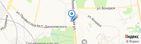 Арчер Мастер на карте Хабаровска