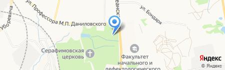 Солёный Пёс на карте Хабаровска