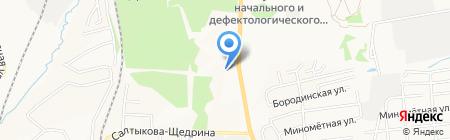 Институт экономических исследований на карте Хабаровска