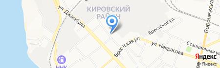 СМК на карте Хабаровска