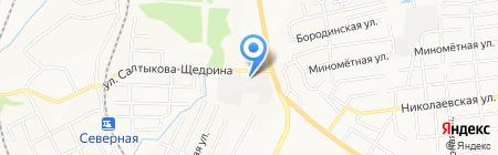 Гараж-27 на карте Хабаровска