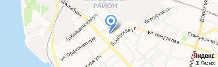 Автотрейд на карте Хабаровска