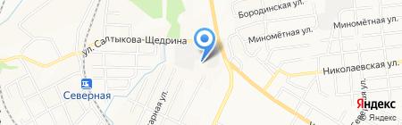 УФК на карте Хабаровска