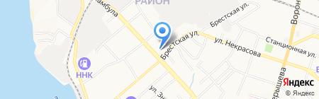 Ромул на карте Хабаровска