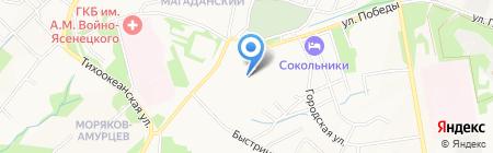 БТ Машинери на карте Хабаровска