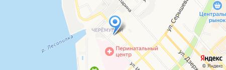 Автотехцентр на карте Хабаровска