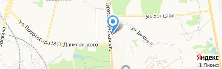 Диор на карте Хабаровска