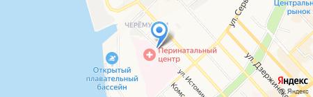 Перинатальный центр на карте Хабаровска