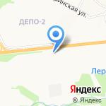 Юникорн на карте Хабаровска