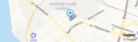 Надежда-Фарм на карте Хабаровска