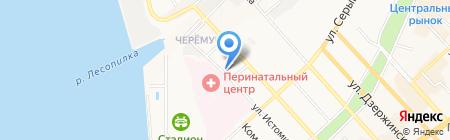Стэк на карте Хабаровска