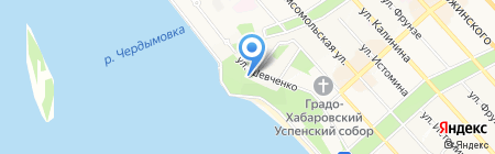 Краевой музей им. Н.И. Гродекова на карте Хабаровска