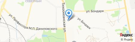 ДААК-Икар на карте Хабаровска