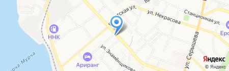 Бастион 27 на карте Хабаровска