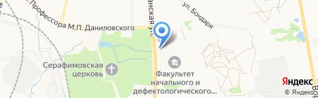 СемьСот на карте Хабаровска