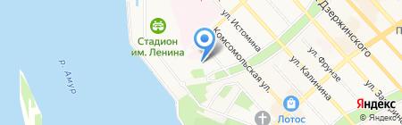 Храм Святителя Иннокентия Иркутского на карте Хабаровска
