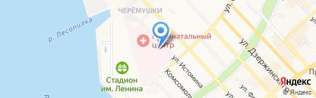 1029 Центр государственного санитарно-эпидемиологического надзора Министерства обороны Российской Федерации на карте Хабаровска