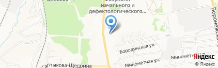 Хабаровский технический колледж на карте Хабаровска