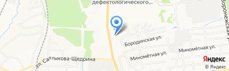 Самбо на карте Хабаровска