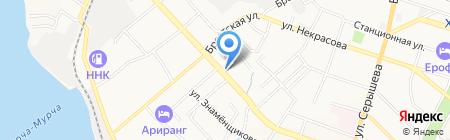 Оргкоммунэнерго на карте Хабаровска