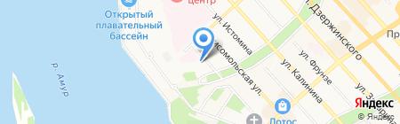 Иконная лавка на карте Хабаровска