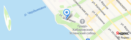 Единая Россия на карте Хабаровска