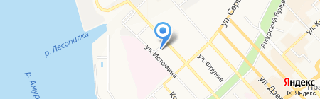 СТРЕЛА на карте Хабаровска