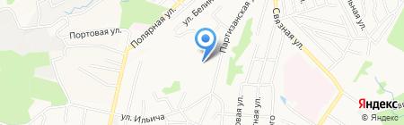 Специальная коррекционная школа-интернат №3 на карте Хабаровска