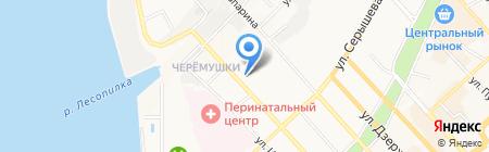 Доставка+ на карте Хабаровска
