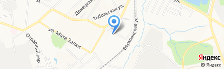 Дом-интернат для престарелых и инвалидов №2 на карте Хабаровска