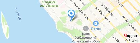 Допинг на карте Хабаровска