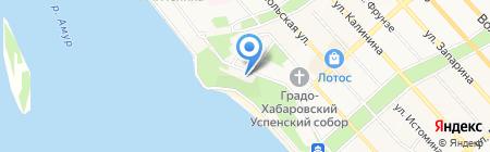 Дальневосточный художественный музей на карте Хабаровска