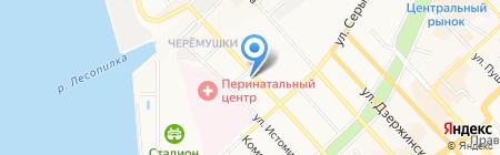Хабаровский краевой благотворительный фонд активного развития интеграции детей-инвалидов на карте Хабаровска