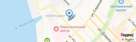 Калина club на карте Хабаровска