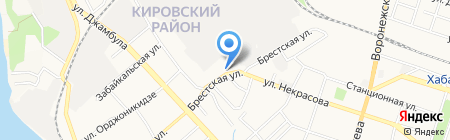 Центр оказания услуг на карте Хабаровска