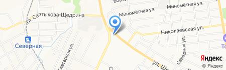 Ангелина на карте Хабаровска