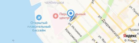 Альфа-профи на карте Хабаровска